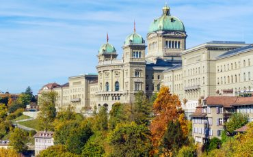 The Federal Palace (1902) or Parliament Building,  Bern, Switzerland
